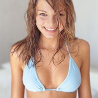 attractive woman from menshealth.com